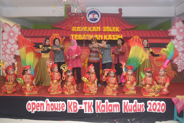 Open House KB-TK 2020 - Rayakan Imlek Tebarkan Kasih