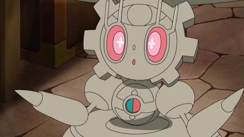 Magearna Shiny Anime Pokémon