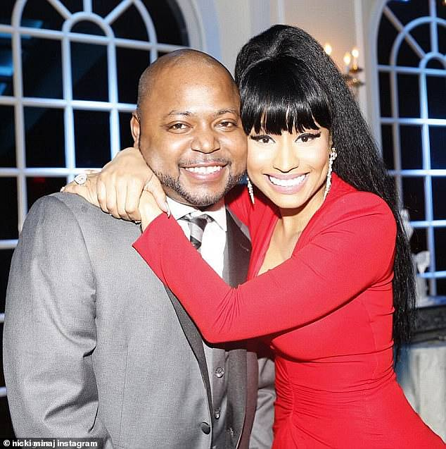 Minaj - real name Onika Tanya Maraj- paid her brother's $100,000 bail back when he was first arrested for the crime in 2015.  The siblings were reportedly quite close prior to the arrest, with Minaj previously plunking down $30,000 to pay for her older brother's wedding to the mother of his rape victim.  Following this conviction, however, sources said the two grew apart. A week after his conviction, Minaj visited her brother in jail, but reportedly only did so to support their mother Carol, according to TMZ.