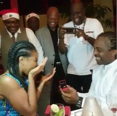 Linda Ikeji Begs God for a Husband as Younger Sister Gets Surprise Proposal