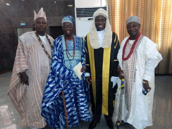 Awori Produced Two Senior Advocate of Nigeria - Olota Of Otta