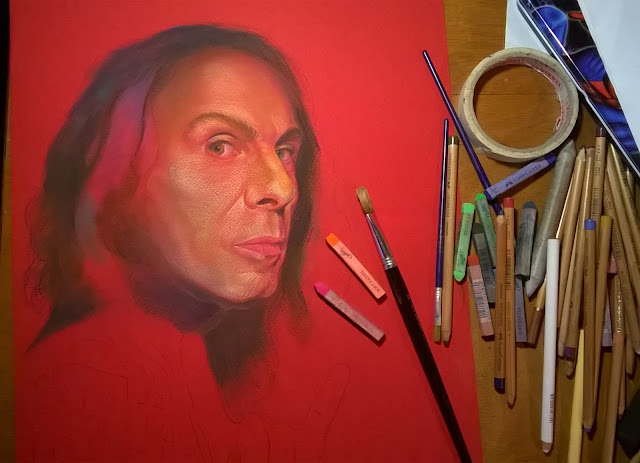 Retrato de Ronnie James Dio