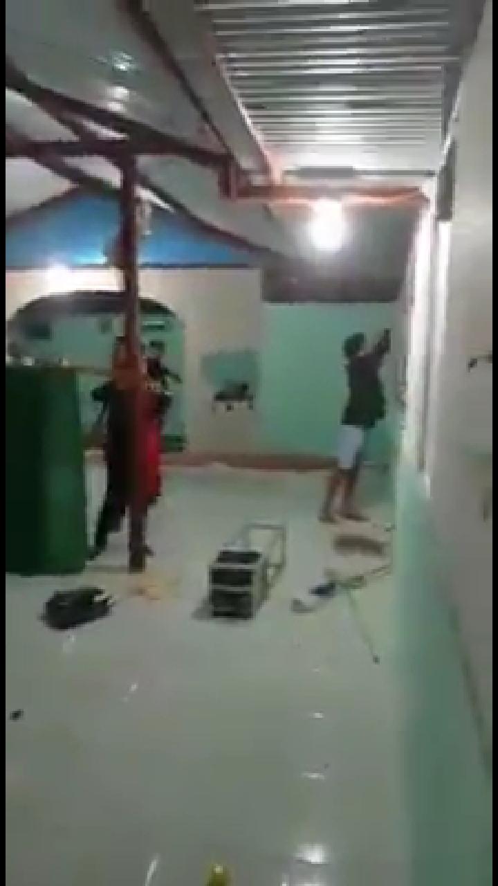 Innalillahi... Masjid di Wilayah Minoritas Muslim Diserang Brutal