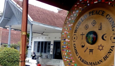 lokasi gong perdamaian dunia