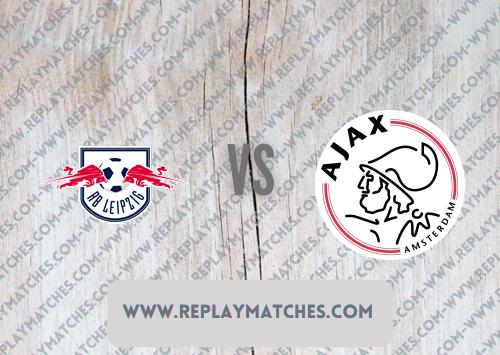 RB Leipzig vs Ajax -Highlights 31 July 2021