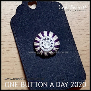 Day 206 : Tiptop - One Button a Day 2020 by Gina Barrett