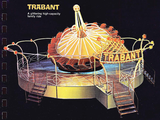 1972 amusement ride TRABANT