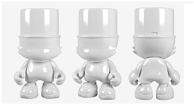 White Kranky 5 Foot Resin Figure by Sket One x Superplastic