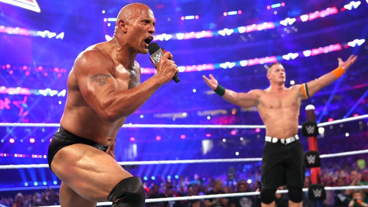 John Cena quer que The Rock retorne para a WWE