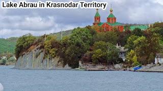 Lake Abrau in Krasnodar Territory