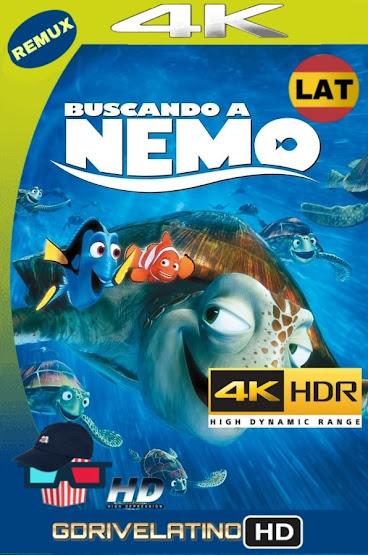 Buscando a Nemo (2003) BDRemux 4K HDR Latino-Ingles MKV
