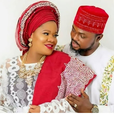 Toyin Abraham and Kolawole Ajeyemi wedding photos