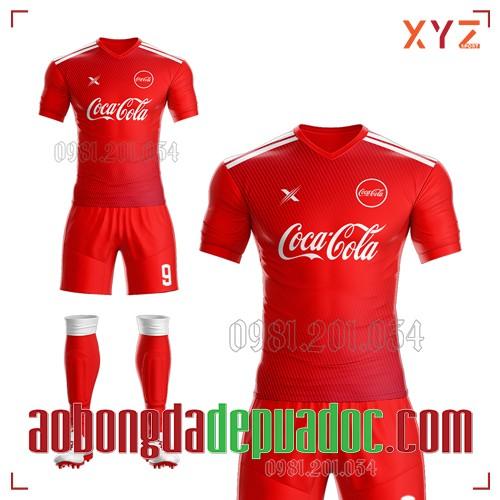 Áo Đấu Công Ty Coca Cola Tự Thiết Kế Mã CC-01 Đẹp Và Độc