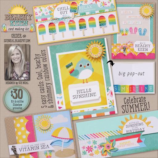 New Kit! Beachy Keen Card Kit