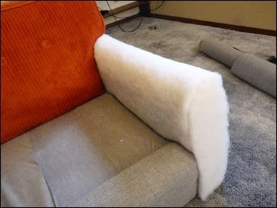 braço do sofa