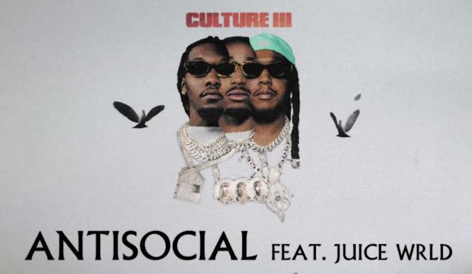 Migos Feat. Juice WRLD - Anti Social (Lyrics)