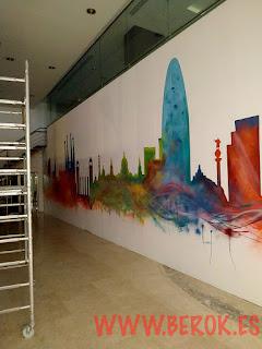 Equipo profesional de graffiti