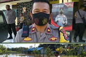 Polres Melawi Melakukan Peninjauan Lokasi Banjir dari Polsek Nanga Pinoh Menuju Polsek Ella Hilir
