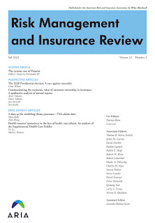 Risk Management and Insurance Review banner