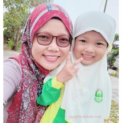 dhia zahra, hari pertama sekolah, hari pertama sekolah 2021, hari pertama sekolah ketika covid19