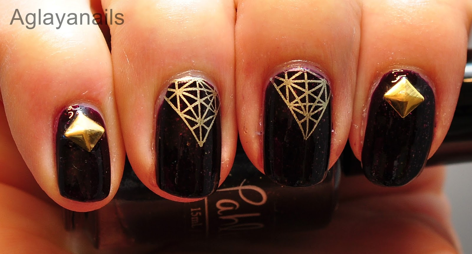 26 Great Nail Art Ideas Embellished 3d By Aglayanails