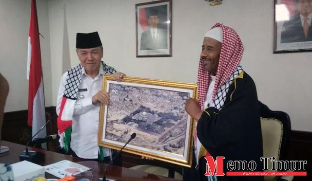 KNRP dan Syekh Salman menemui Plt Bupati dr. Buntaran