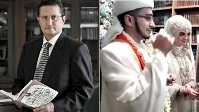 Menantu HR5, Irfan Alaydrus Ternyata Keponakan Wakil Ketua MPR RI Fadel Muhammad