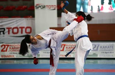 Practica el Karate