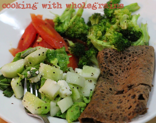 Recipe for Eggless Buckwheat Crepes