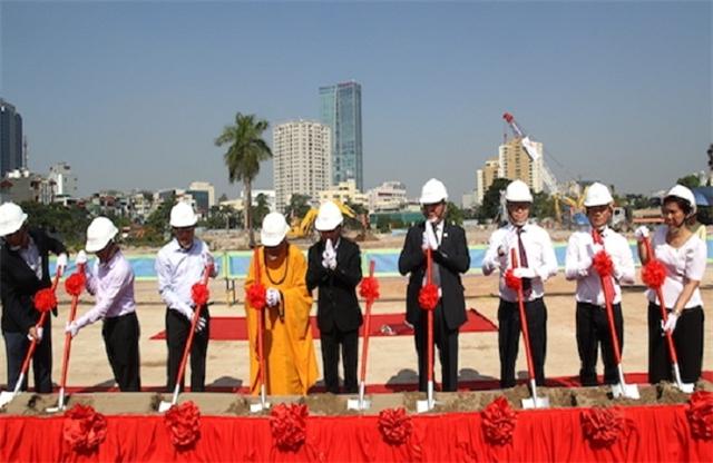 Lễ khởi công dự án chung cư Tân Hoàng Minh Giảng Võ