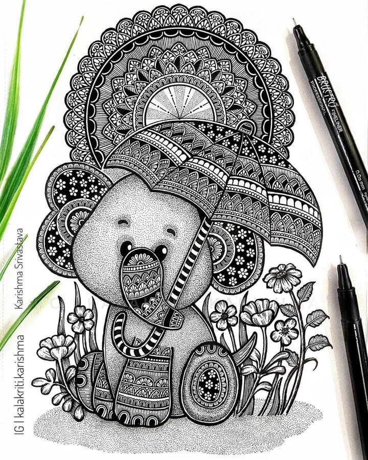04-Elephant-and-umbrella-Karishma-Srivastava-www-designstack-co