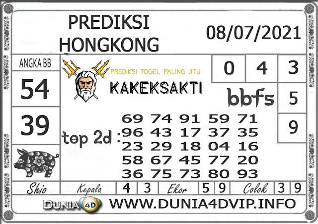 Prediksi Togel HONGKONG DUNIA4D 08 JULI 2021