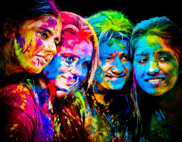 Happy Holi SMS in Hindi for Whatsapp