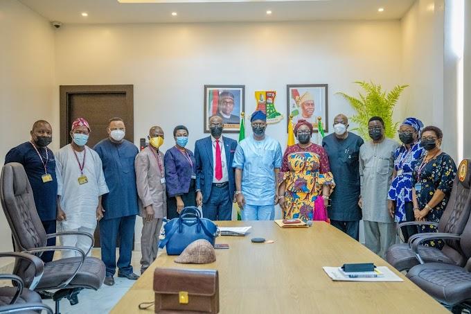 UNILAG VC Prof Ogundipe visits Makinde
