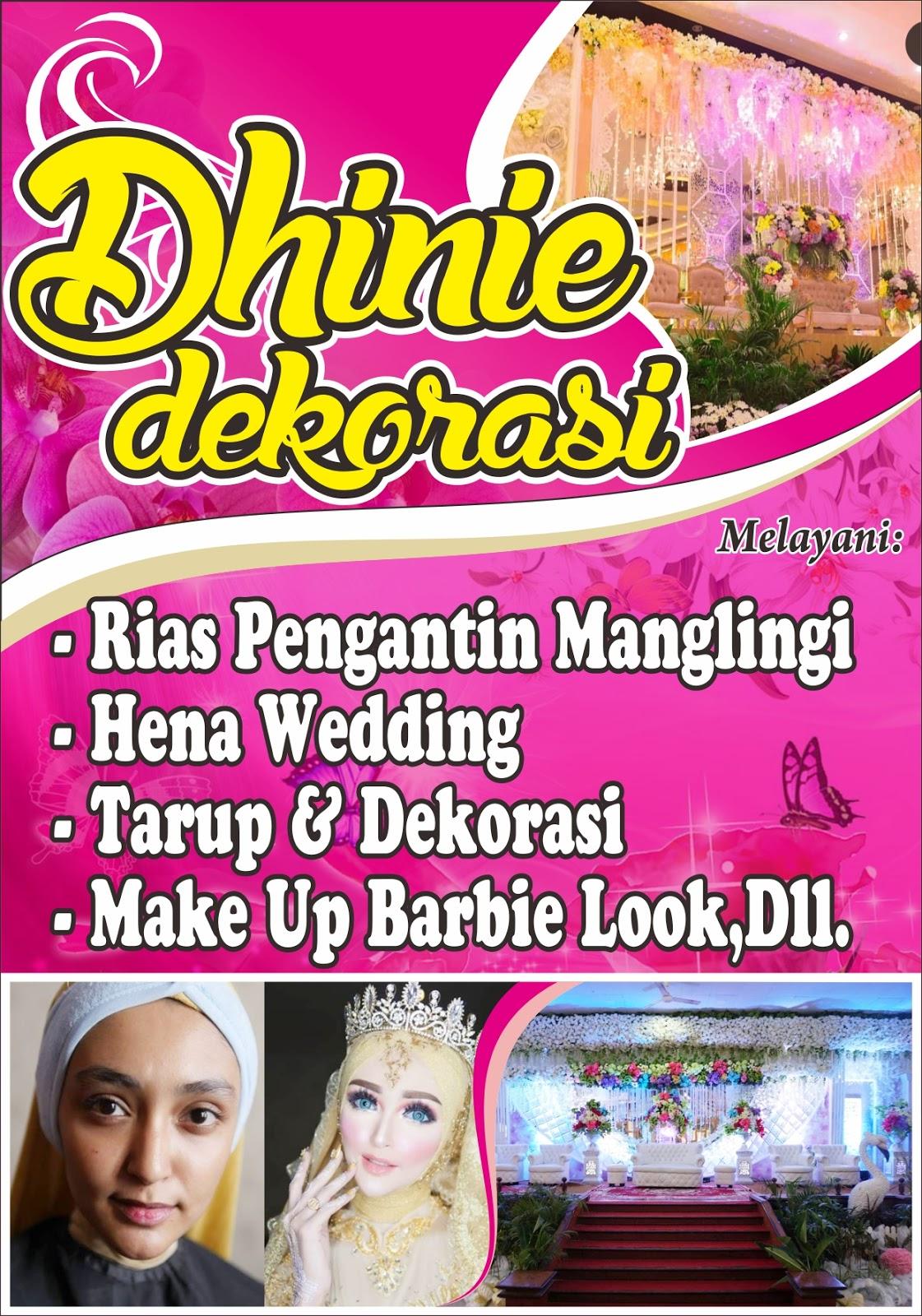 Free Download Design Banner Salon cdr - Design_Spanduk