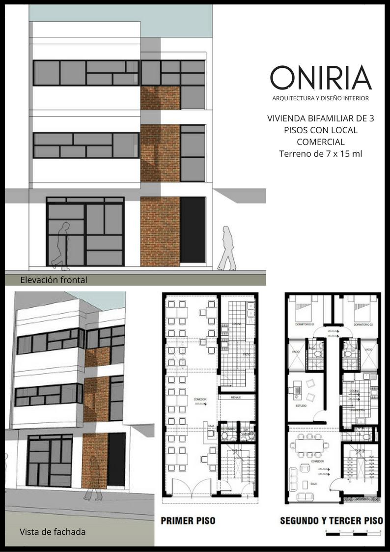 Oniria proyectos y planos gratis de arquitectura de for Vivienda arquitectura
