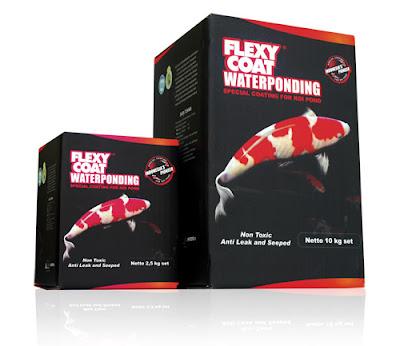 Cat Kolam Ikan Flexicoat Waterponding - Ikanesia