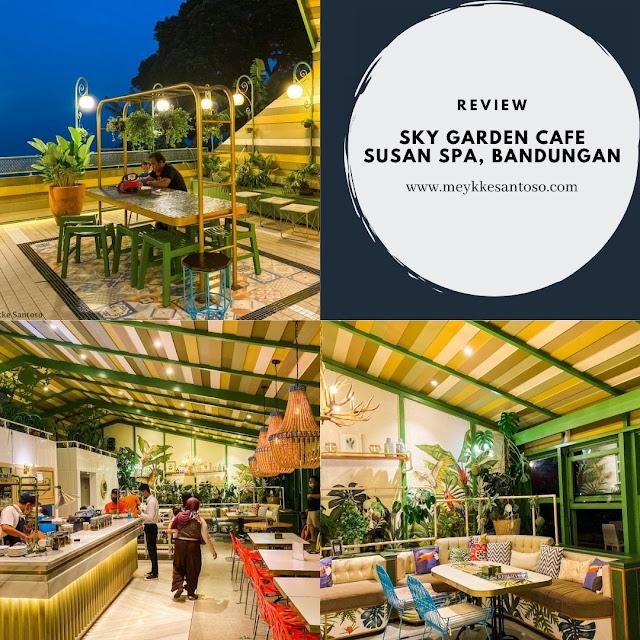 Sky Garden Cafe Susan Spa and resort Bandungan