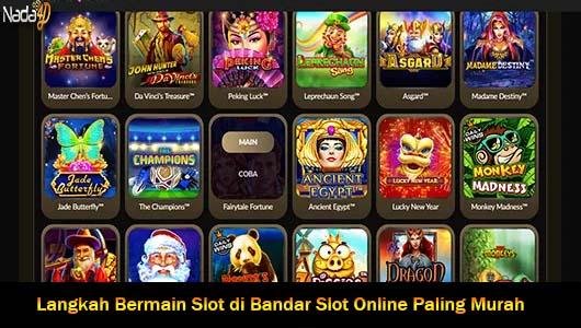 Langkah Bermain Slot di Bandar Slot Online Paling Murah