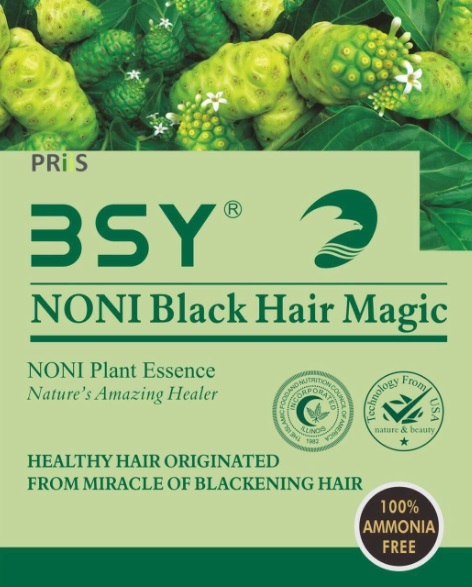 Shampo Noni Bsy Asli Black Hair Magic Di Indomaret Harga