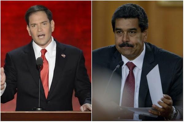 Marco Rubio acusa a Maduro de no dejar entrar comida en Venezuela