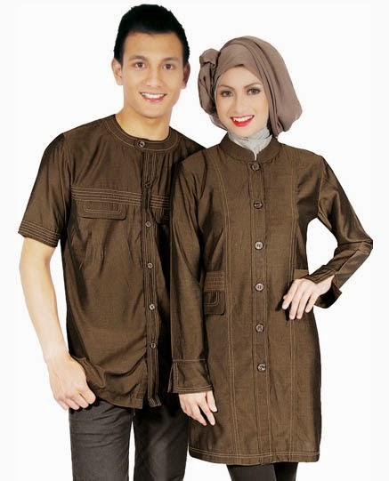 Model Baju Muslim Couple Formal
