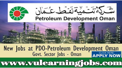 Oman Careers | Petroleum Development Oman Careers