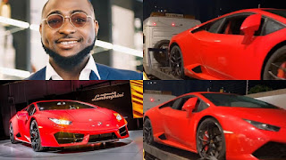 Davido celebrates the Nigerian Independence Day with a brand new Lamborghini