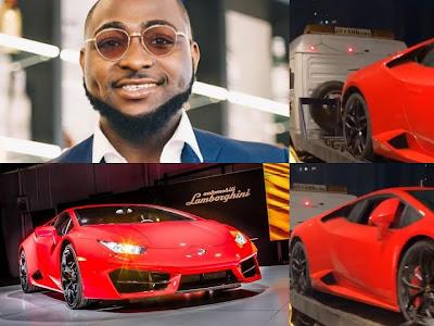 Davido Celebrates The Nigerian Independence Day With A Brand New Lamborghini
