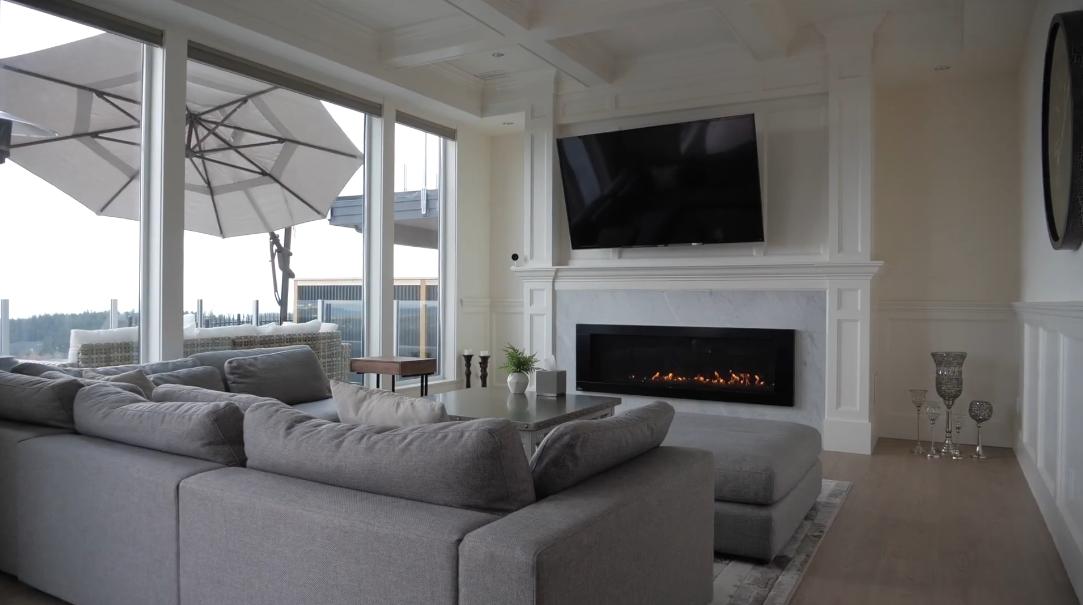 10 Interior Design Photos vs. Tour 2701 Goldstone Hts, Victoria Luxury Home