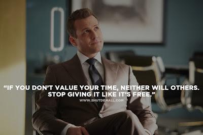 Harvey Specter Best Quote