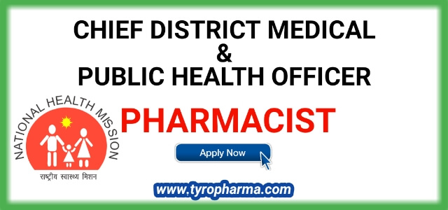 Recruitment for Pharmacist (17) under NHM from Office of The Civil Surgeon cum Chief Medical Officer