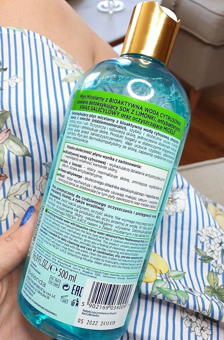 Bielenda Fresh Juice płyn micelarny limonka opinie