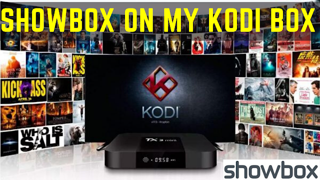 showbox on my kodi box